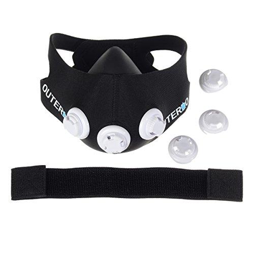 OUTERDO Sport Mask Atemmaske Fitness Maske - 6