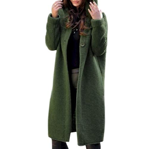2021 New Spring Autumn Winter Women Solid Long Sweater Loose Knitting Cardigan Hooded Coat Office Lady Plus Size 5XL Dropship