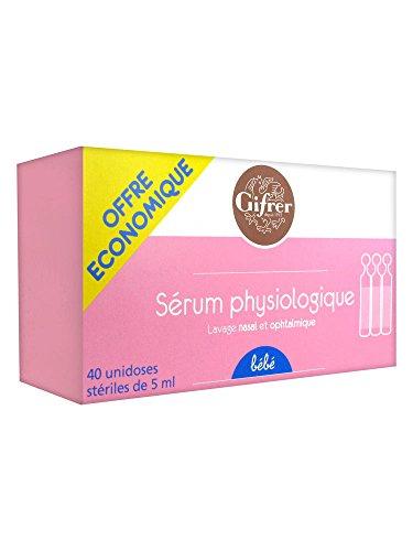 Gifrer - Serum Physiologique Bebe 40x5ml Physiologica Gifrer