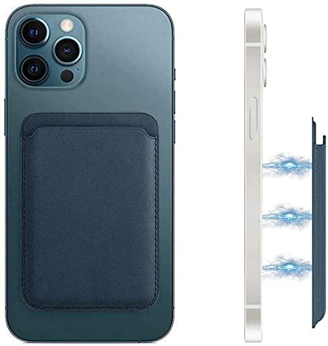 Funda de piel con tarjetero compatible con iPhone 12 12 Mini 12...