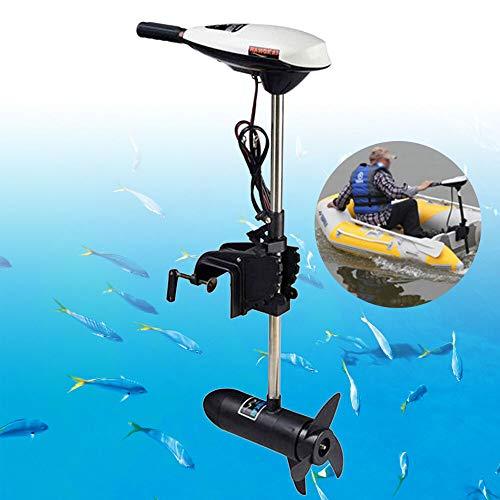 NOPTEG Marine 65LBS Electric Outboard Trolling Motor for Fishing Boat Kayak Durable