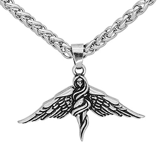 AMOZ Collares, Joyas, Utilizados para el Amuleto Vikingo Nórdico Fri Fria Odin Wife Love God Necklace