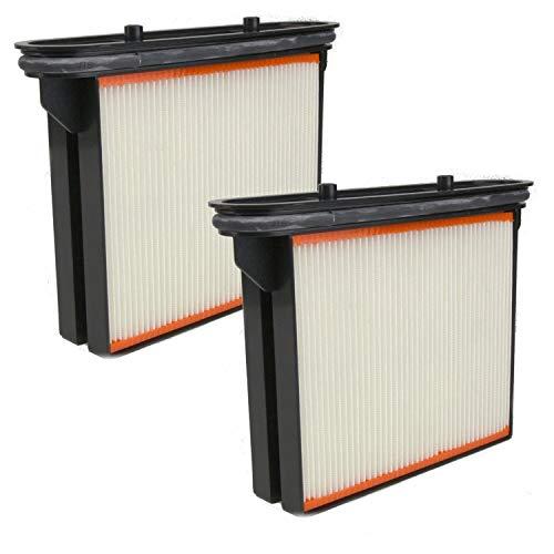 DeClean 2 x Filter Ersatzfilter Feinstaubfilter Faltenkassette Faltenfilter Nassfilter - Ersatzteil für Nass- / Trockensauger von 3M Mobile Absaugsysteme Nr. 64400