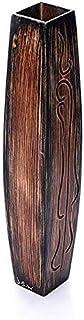 فازة خشبي - 60 سم - بني