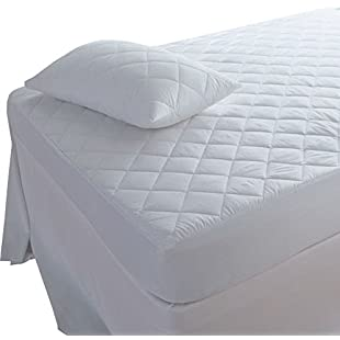 Customer reviews Highliving Quilted Mattress Protector, Extra Deep, Small Double (122 × 190 cm)