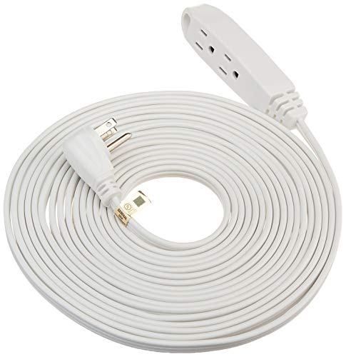 indoor extension cord white - 6