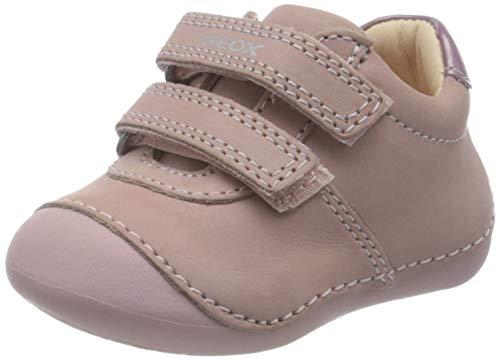 Geox Baby-Mädchen B TUTIM B First Walker Shoe, Rosa (Rose), 19 EU