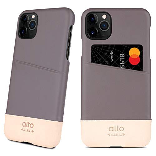 Alto - Funda para iPhone 11 Pro Max Metro (piel italiana, hecha a mano)