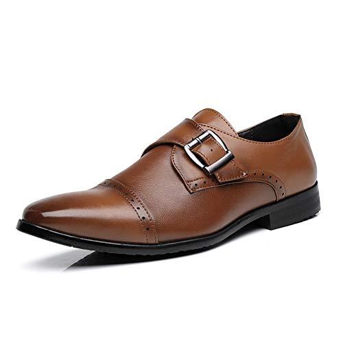 SGJFZD Dueño de Oxford for los Hombres Zapatos de Vestir Formal Resbalón...