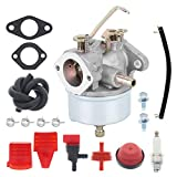 Carburetor for Tecumseh H30 H50 H60 HH60 HH70 Engine, for Troy Bilt Tillers 5HP 6HP 4 Cycle 2 Stage Snowblower