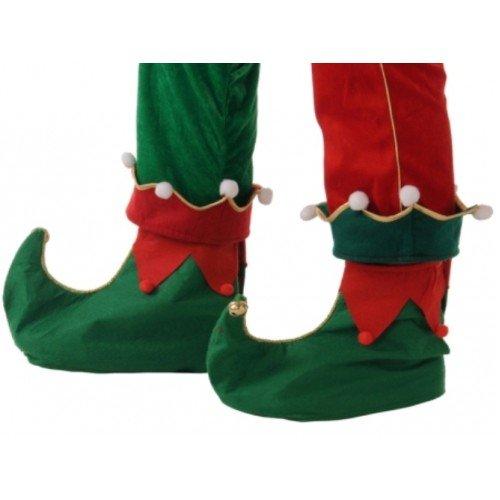 Christmas Fancy Dress Costume Elf Schuhe Slip On