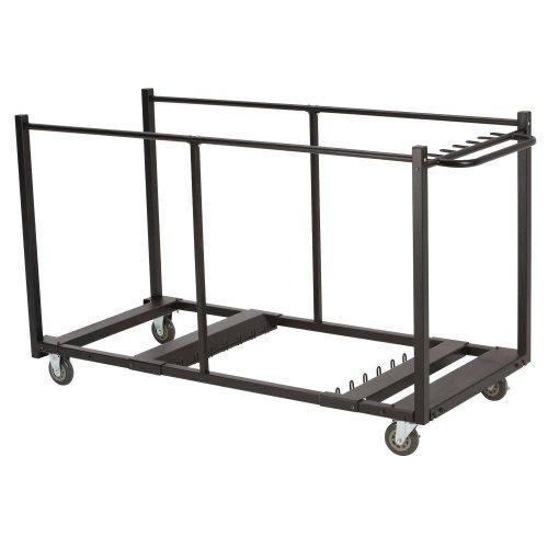 Lifetime-Trolley Tische Schwarz 193x 80x 109,5cm 80193