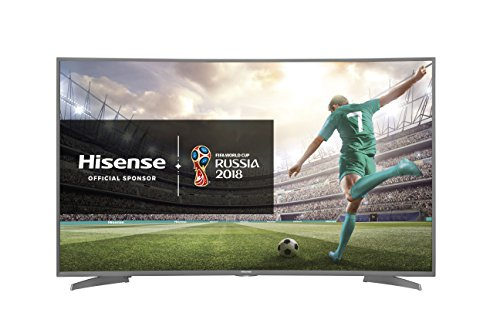 Hisense H55N6600 TV LED Ultra HD 55' Curvo, Piattaforma...