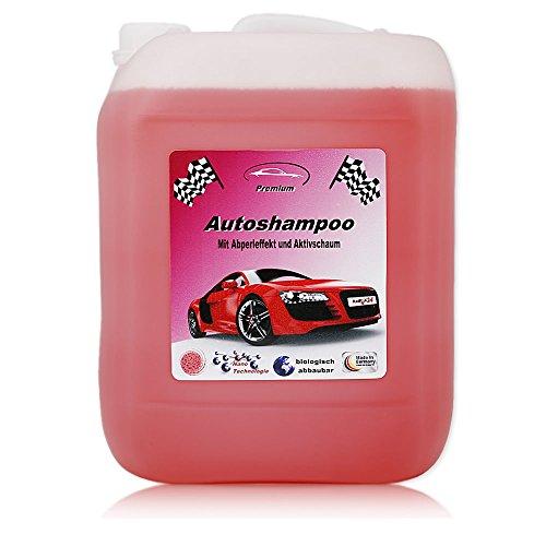 RedFOX24 10 Liter Professional Premium Autoshampoo Konzentrat mit Abperleffekt & Aktivschaum