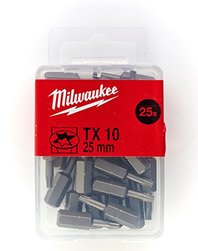 Milwaukee Ponta TX10 x 25 mm – 25 peã ‡ AS