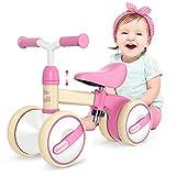 Gonex Bicicleta sin Pedales para Niñas y Niños de 10-36 Meses Bicicleta...