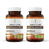 Barrenwort 60 Capsules(2 psc.), 1000 mg, Organic Barrenwort (Horny Goat Weed, Epimedium Grandiflorum) Dried Leaf (2x60 Capsules)