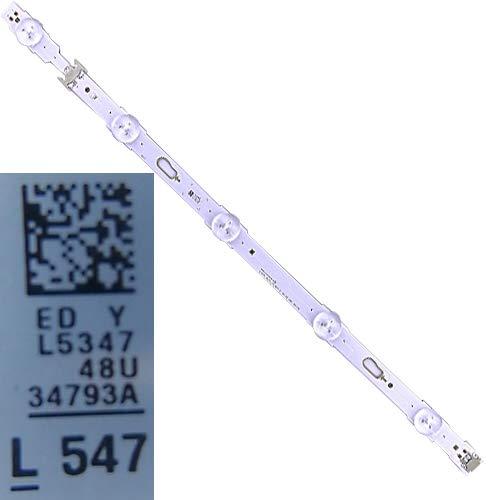 5 LED Streifen BN96-34793A Samsung UE48JU6400K