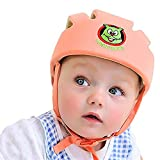 WAIWAIZUI Casco Suave de Seguridad Ajustable para Bebé Beanie Protector para Caminar a Prueba de Golpes