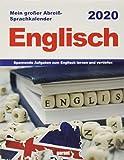 Abreißkalender Englisch 2020