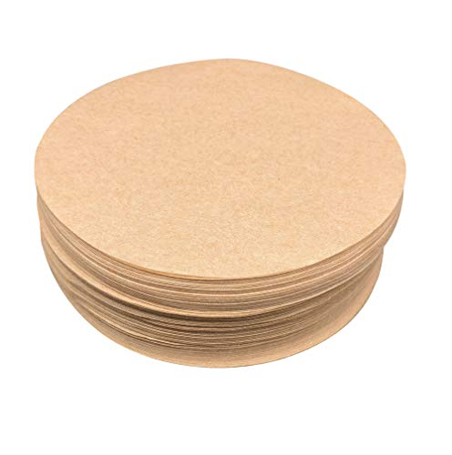 """Worthy Liners Natural Parchment Paper Round/Circles (All Sizes Available) 35 Pack (10"""")"""