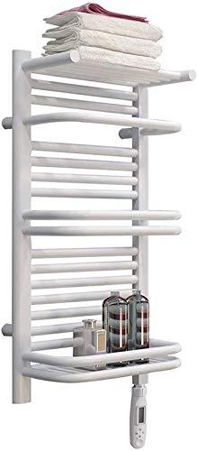 Toallero calefactado montado en la pared, Railleñas de toallas con calefacción Toalla Calentador, Rieles de toallas con calefacción, Toalla Secador de pared Montado con calentador de termostato conven