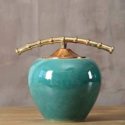 Keramik Vasen Keramik Dekoration Sparschwein Wohnzimmer Kreative Blumeneinsatz Hause Weinschrank Veranda Retro Couchtisch Dekor,C