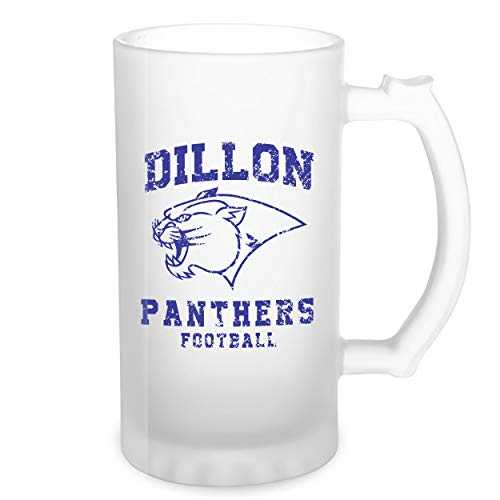 Dillon Panthers Football Transparente taza de Stein de la cerveza 0.5L