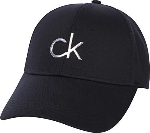 Calvin Klein Damen BB Cap Baseballkappe, Ck Schwarz, Einheitsgröße