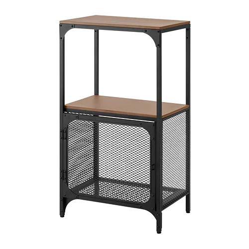 IKEA/イケア FJALLBO:シェルフユニット51x95 cm ブラック(504.639.41)