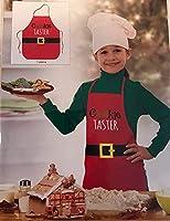 J2 Home クッキーテスター 子供用エプロンとサンタハット
