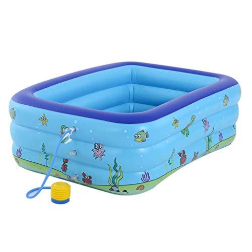 Piscina inflable, piscina de salón inflable de tamaño completo for bebé, niño, niños, adulto, bebé, niños pequeños for edades 3 +, al aire libre, jardín, patio trasero, divertido juguete de verano. li