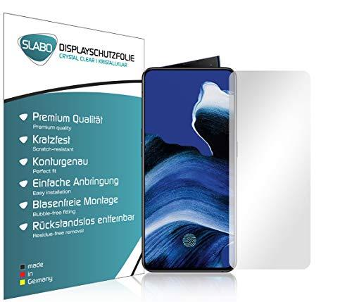 Slabo 4 x Bildschirmschutzfolie für Oppo Reno2 | Reno2 Z Bildschirmfolie Schutzfolie Folie Zubehör Crystal Clear KLAR