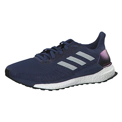 adidas Herren Boost 19 Cross-Laufschuh, Blau Tech Indigo Dash Grey Solar Red, 49 1/3 EU