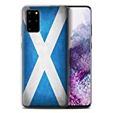 Stuff4 Gel TPU Phone Case/Cover for Samsung Galaxy S20 Plus/Scotland/Scottish Design/Flags Collection