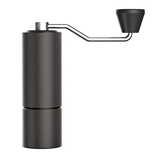 TIMEMOREタイムモア コーヒーミル C2 手挽きコーヒーグラインダー ステンレス臼 アルミボディ 容量20g 36段階粗さ調整可能 省力 均一 coffee grinder (ブラック)