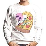 Cloud City 7 Pizza Wave Men's Sweatshirt