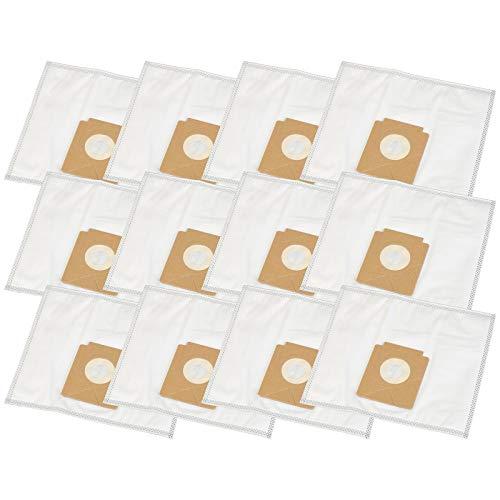 12 bolsas de aspiradora adecuadas para Solac 898, 901, 903, A 401 / A401, JC 861 E / JC861E
