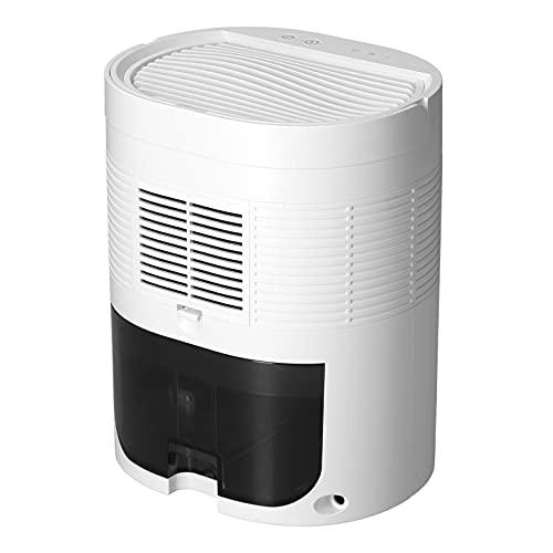 CCYLEZ Deshumidificador eléctrico portátil 1L, Mini deshumidificador eléctrico, filtración eficiente, para dormitorios, armarios(Transl)