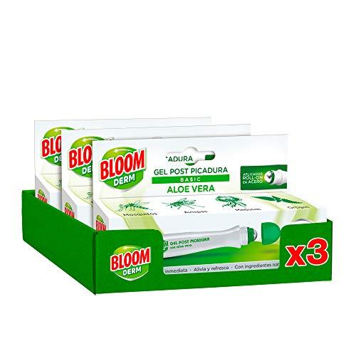 Bloom Derm Post picadura Aloe Vera 10ml - Pack de 3