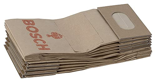 Bosch 2605411068-2605411068 - sacchetto di polvere - für pex, gex, psx, gss 16/23, 60/75 pbs, psf 22, guf 4-23 (pacchetto di 10)