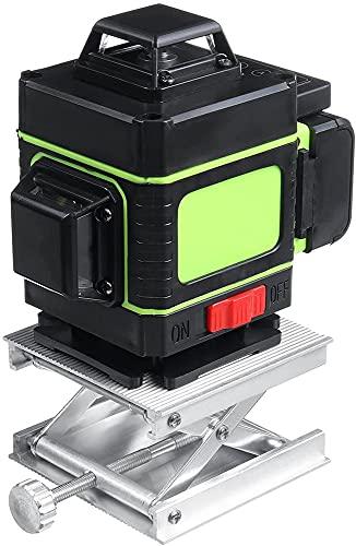4D Potente luz Verde Control Remoto Horizontal Vertical Sistema de Auto nivelación Marco de fijación de la Pared 16 Línea Nivel láser