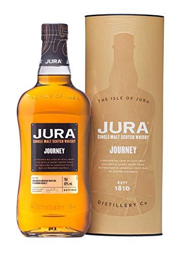 Jura Journey Single Malt Scotch Whisky mit Geschenkverpackung (1 x 0,7 l)