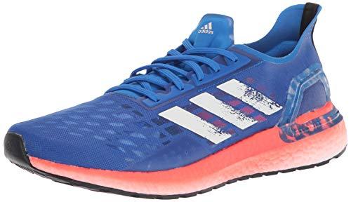 adidas Men#039s Ultraboost Personal Best Running Shoe Glory Blue/White/Solar Red 15