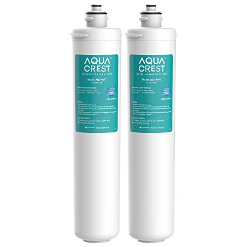 AQUA CREST H-104 Under Sink Water Filter, Replacement for Everpure H-104, EF-3000, PBS-400, OW200L, 6TO-BW, MR-100, MR-225, EV9262-71, EV9612-11, EF9857-00, EF9857-50, EV9270-86, Pakc of 2