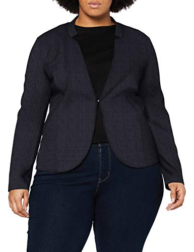 TOM TAILOR MY TRUE ME Damen Blazer, 24617-grey Houndtooth Check, 54