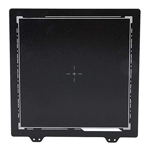 Protezione Ambientale Degli Accessori per Stampante Nera in Lamiera D'Acciaio 3D Con Molla per Ender-3/3S/3Pro/5 235 X 235 Mm per Uso industriale