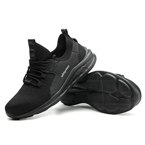 Stalen neus schoenen werkschoenen voor mannen en vrouwen licht ademend gymschoenen anti-smash lekvrij schoen voor in de vrije natuur industriële opbouw