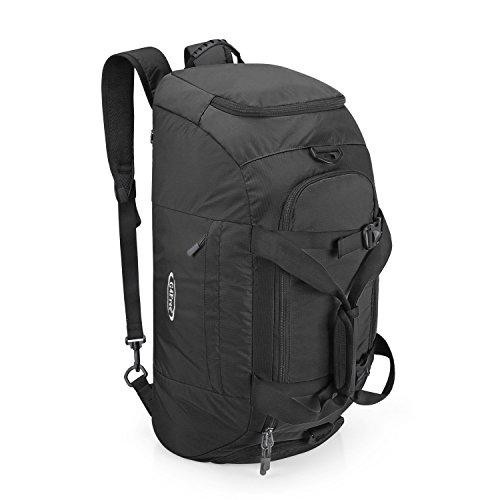 G4Free 40L Faltbare 3-Wege-Reisetasche Sporttasche mit Schuhfach Herren Damen Gym Bag Gepäck für Sport Fitness Gym Urlaub