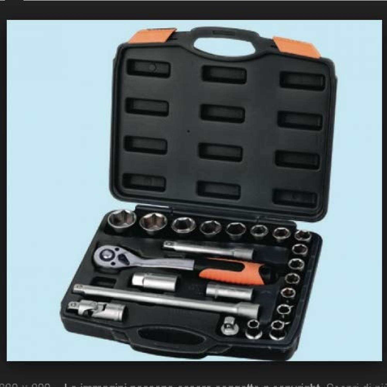 Set Set Set Steckschlüssel Brixo – 22 teilig Chrome Vanadium B01N4V7POL | Wir haben von unseren Kunden Lob erhalten.  f72e94